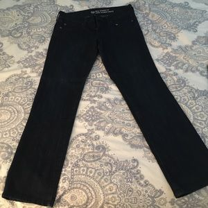 GAP real straight leg jeans 4/27A